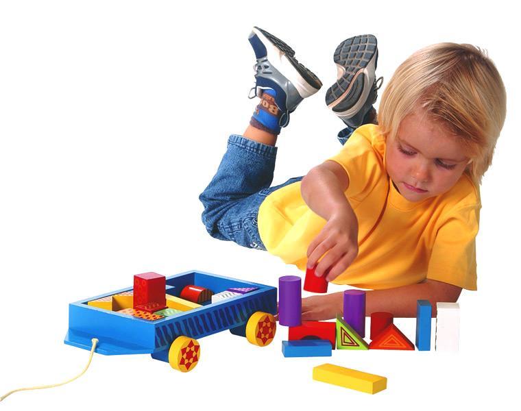 Представления дошкольников о форме предметов
