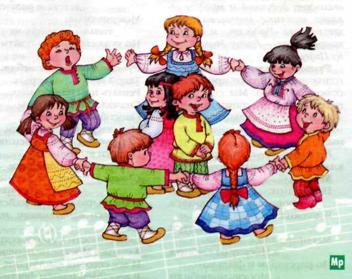 Музыкальный фольклор в воспитании дошкольников